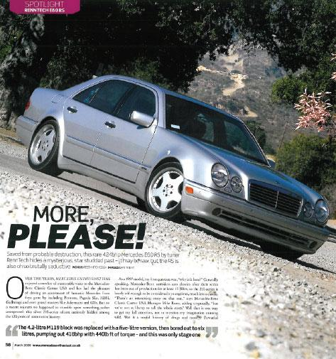 Mercedes Enthusiast - March 2009